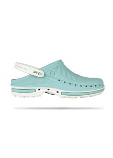 Wock Clog 08 White / Light Blue