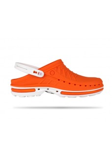 Wock Clog 05 White/Orange