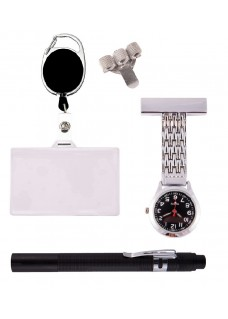 Personal Equipment Set Silver Black