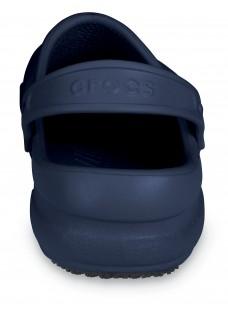 LAST CHANCE: size 3/4 Crocs Bistro Navy