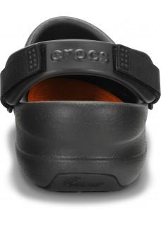 LAST CHANCE: size 7/8 Crocs Bistro Pro Black