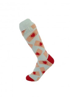 Happy Womens Socks Bandaids