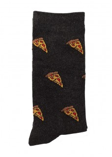 Happy Womens Socks Pizza