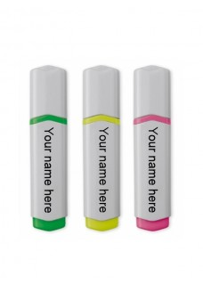 Highlighter 3 Pack Animals
