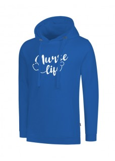 Hoody Nurse Life Blue