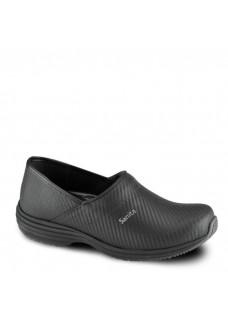 Sanita Wave Closed Heel Carbon Black