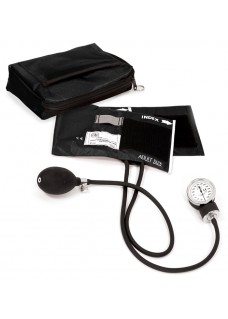 Premium Aneroid Sphygmomanometer with Carry Case Black