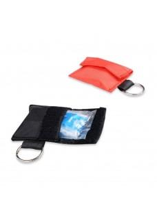 CPR Mask Key Ring Black