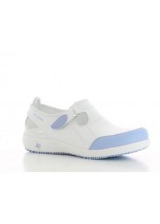 Oxypas Lilia White/Light Blue