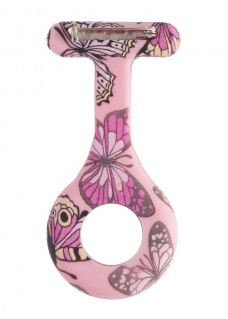 Silicone Cover Butterfly Pink