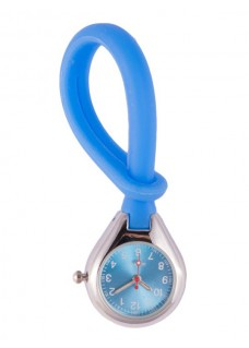 Silicone Hang Watch Blue