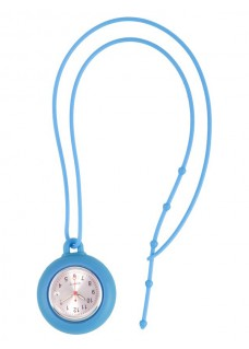 Silicone Lanyard Watch Blue