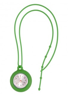 Silicone Lanyard Watch Green