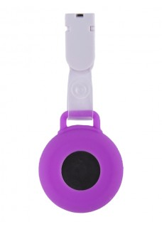 Silicone Nurses Fob Watch Clip Purple