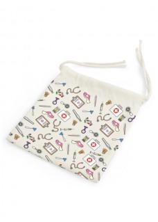 Bag for Facemask Medical Symbols