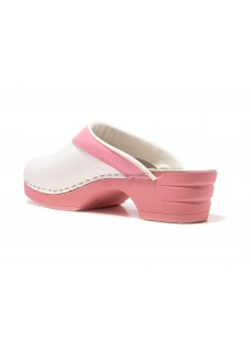 OUTLET size 5 Moofs Pink and White