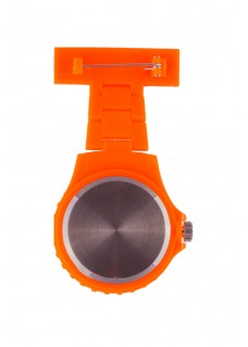 Neon Nurses Fob Watch Orange