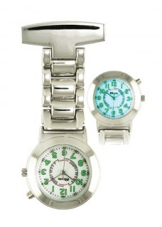 Backlight Nurses Fob Watch PC