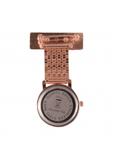 Jururawat Nurses Fob Watch Rose Gold