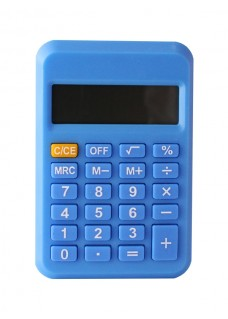 Calculator Blue