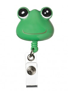Deluxe Retracteze ID Holder Frog