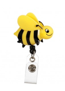 Deluxe Retracteze ID Holder Bee