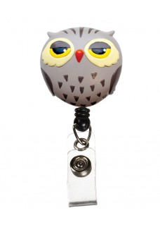 Deluxe Retracteze ID Holder Owl