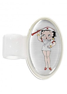 Stethoscope ID Tag Betty Boop Thermometer