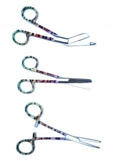 Scissors Set Geometric Panther Multicolor