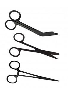 Left Handed - Scissors Set Stealth Black