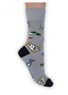 Happy Mens Socks Instruments