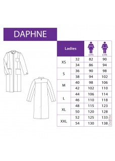 Haen Ladies Lab Coat Daphne