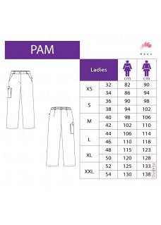 Haen Women's Nursing Pants Pam