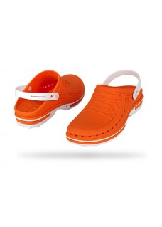Wock Clog 05 White/Orange 47-48