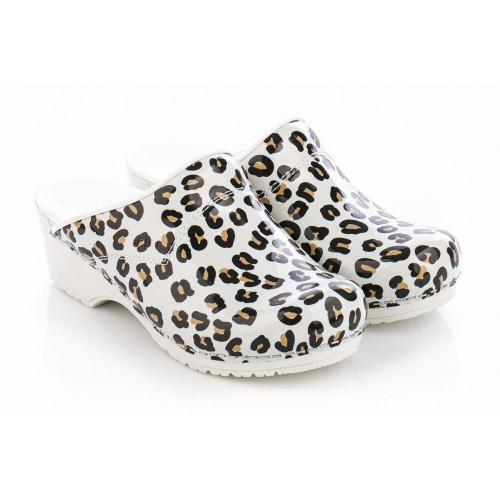 Sanita Model 314 Leopard White