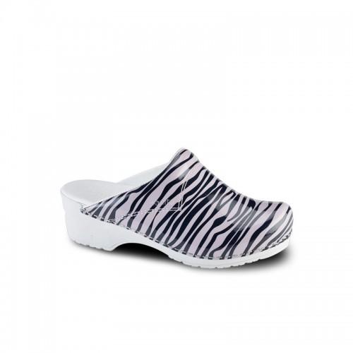 Sanita Model 314 Zebra Pink/Black White