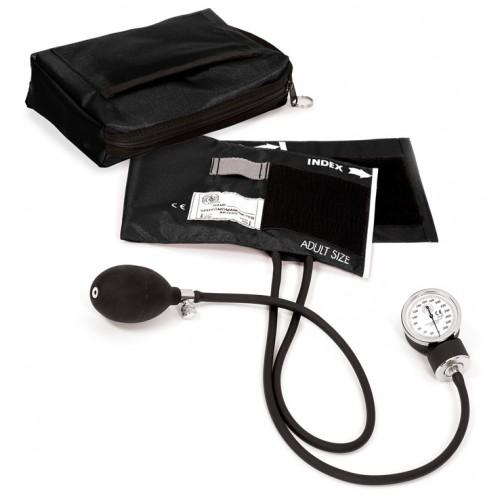 Premium Aneroid Sphygmomanometer with Carry Case Black