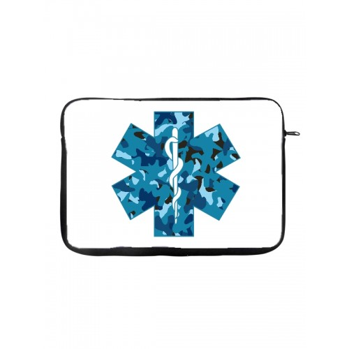 """Tablet Case 10"""" Rod of Asclepius"""