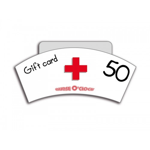 Gift Voucher NurseO'Clock £50