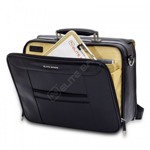 Elite Bags DOCTOR'S Leather Black