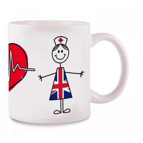 Mug Stick Nurse United Kingdom