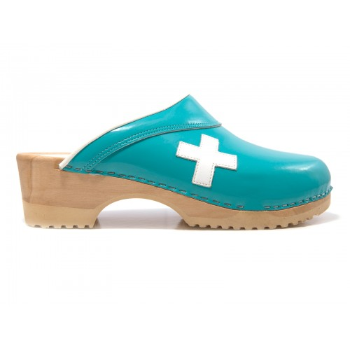 OUTLET size 7 Tjoelup First Aid Aqua White