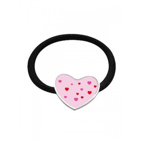 Elastic Hair Band Hearts Heart