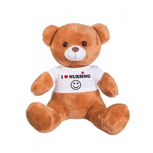 Teddy Bear Love Nursing with FREE name print