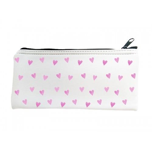 Multipurpose Case Pink Hearts