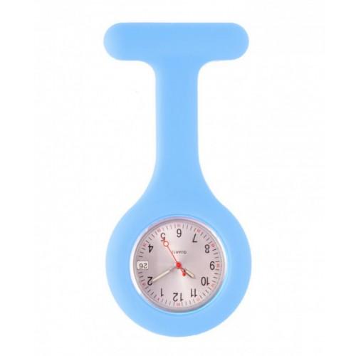 Silicone Nurses Fob Watch Standard Blue