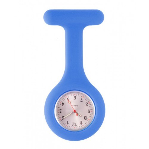 Silicone Nurses Fob Watch Standard Blue