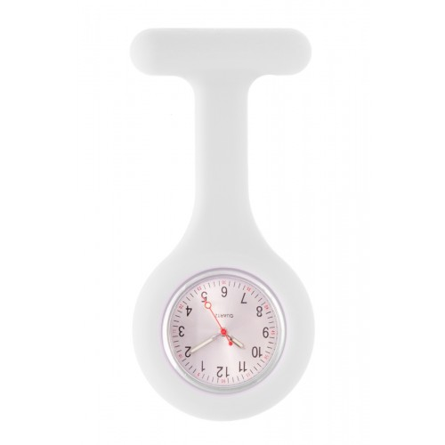 Silicone Nurses Fob Watch Standard White