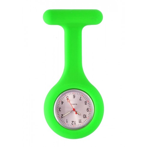 Silicone Nurses Fob Watch Standard Lime Green