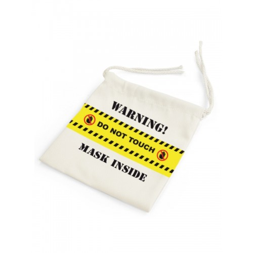 Bag for Facemask Do Not Touch